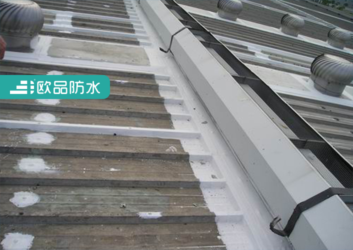 防水技术与服务 防水知识 钢结构厂房屋面漏水原因      5,檐口部位